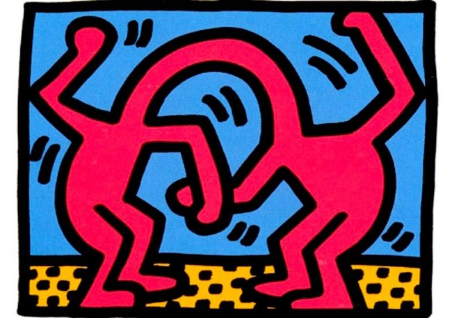 3 Pop Shop II By Keith Haring