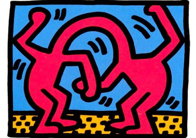 3 Pop Shop II By Keith Haring