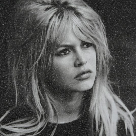 Brigitte Bardot by Russell Young