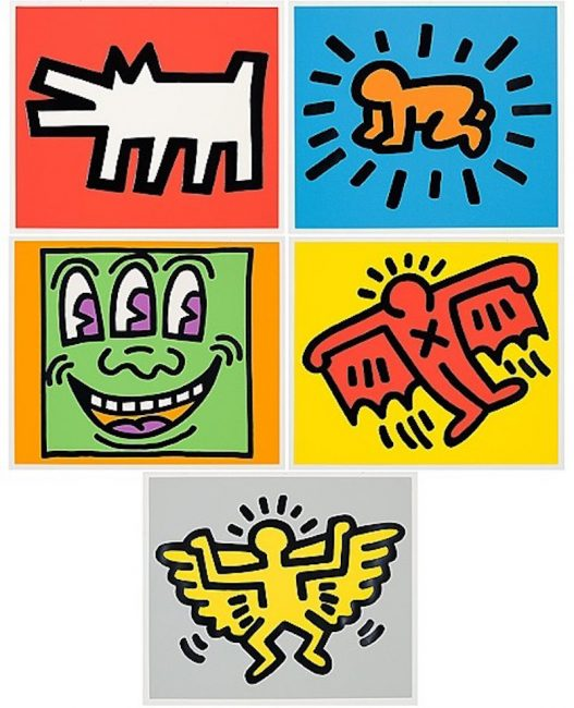 Keith Haring, Color Icons