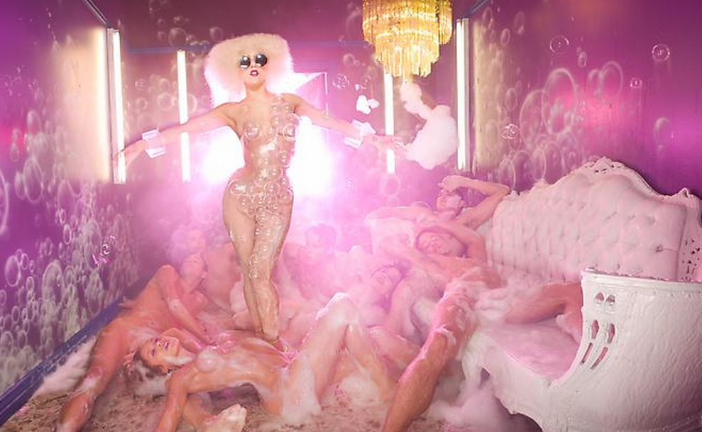 Lady Gaga Pink Room by David LaChapelle