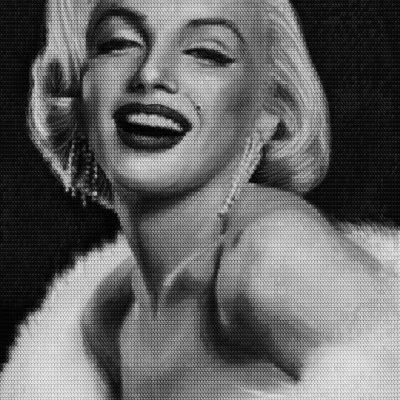 Marilyn vs Brigitte by Alex Guofeng Cao