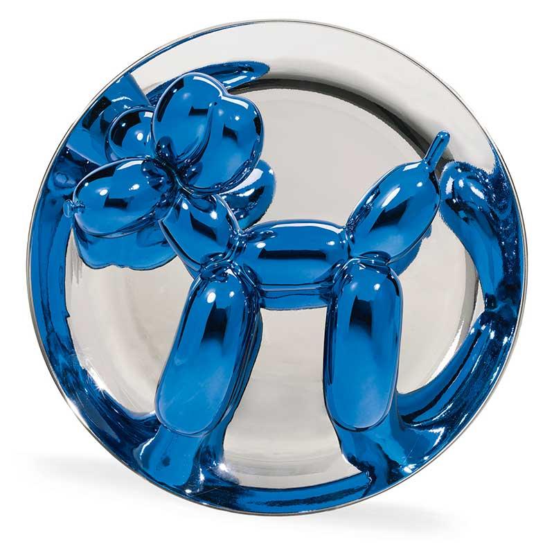 Balloon Dog, Blue, Jeff Koons