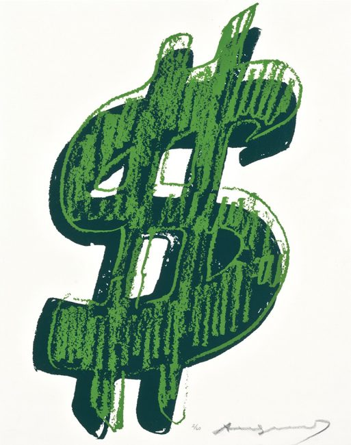 single dollar sign green 1