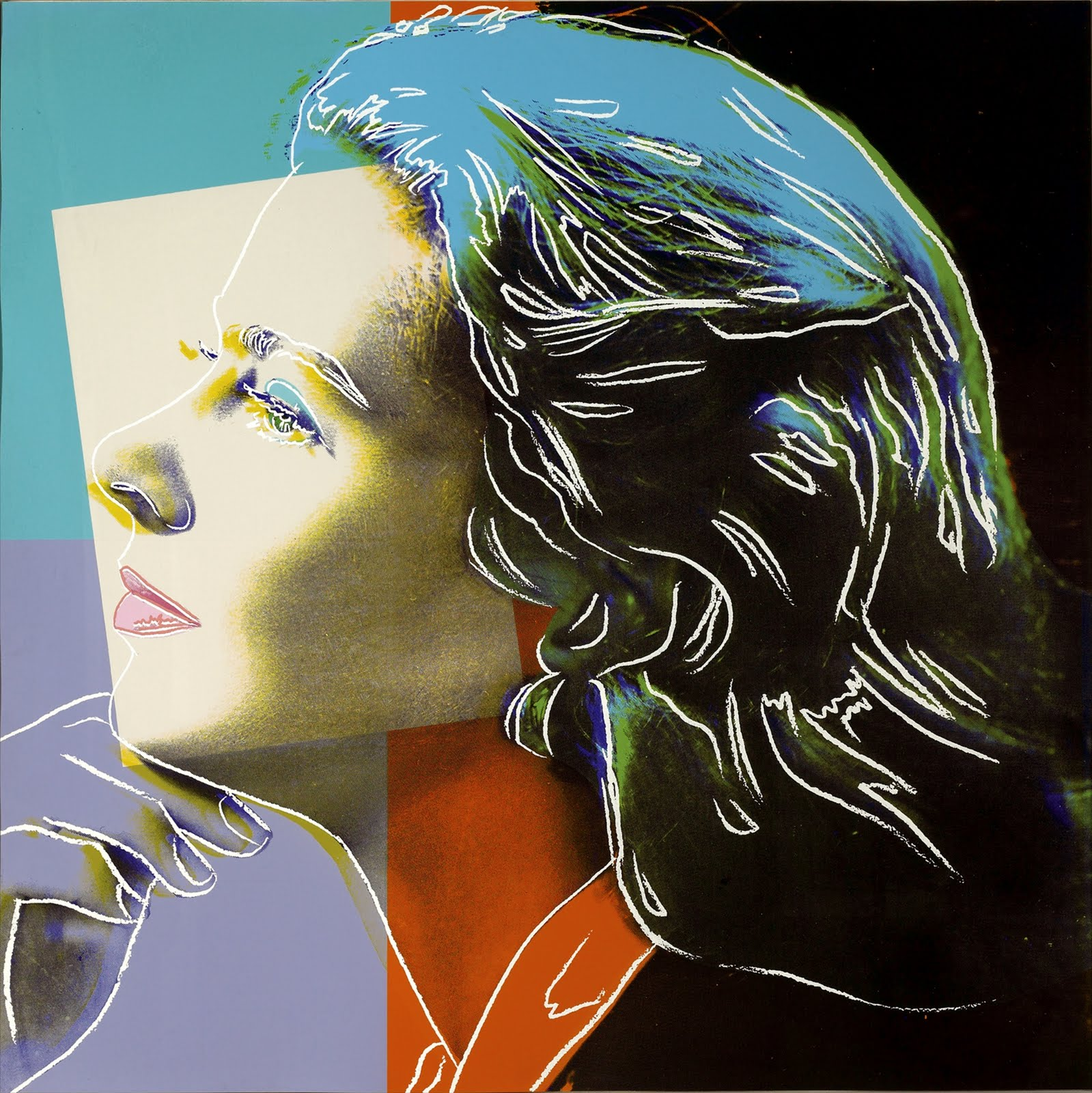 Ingrid Bergman 313 (Herself) by Andy Warhol