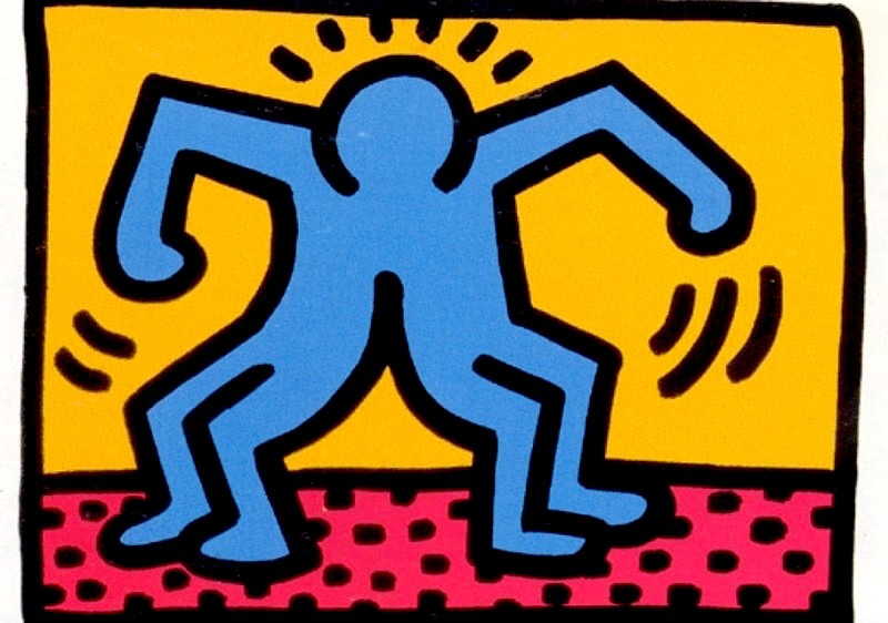 1 Pop Shop II by Keith Haring