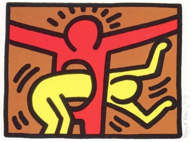3 Pop Shop IV by Keith Haring