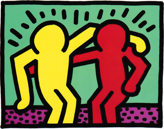 Pop Shop I Best Buddies Keith Haring