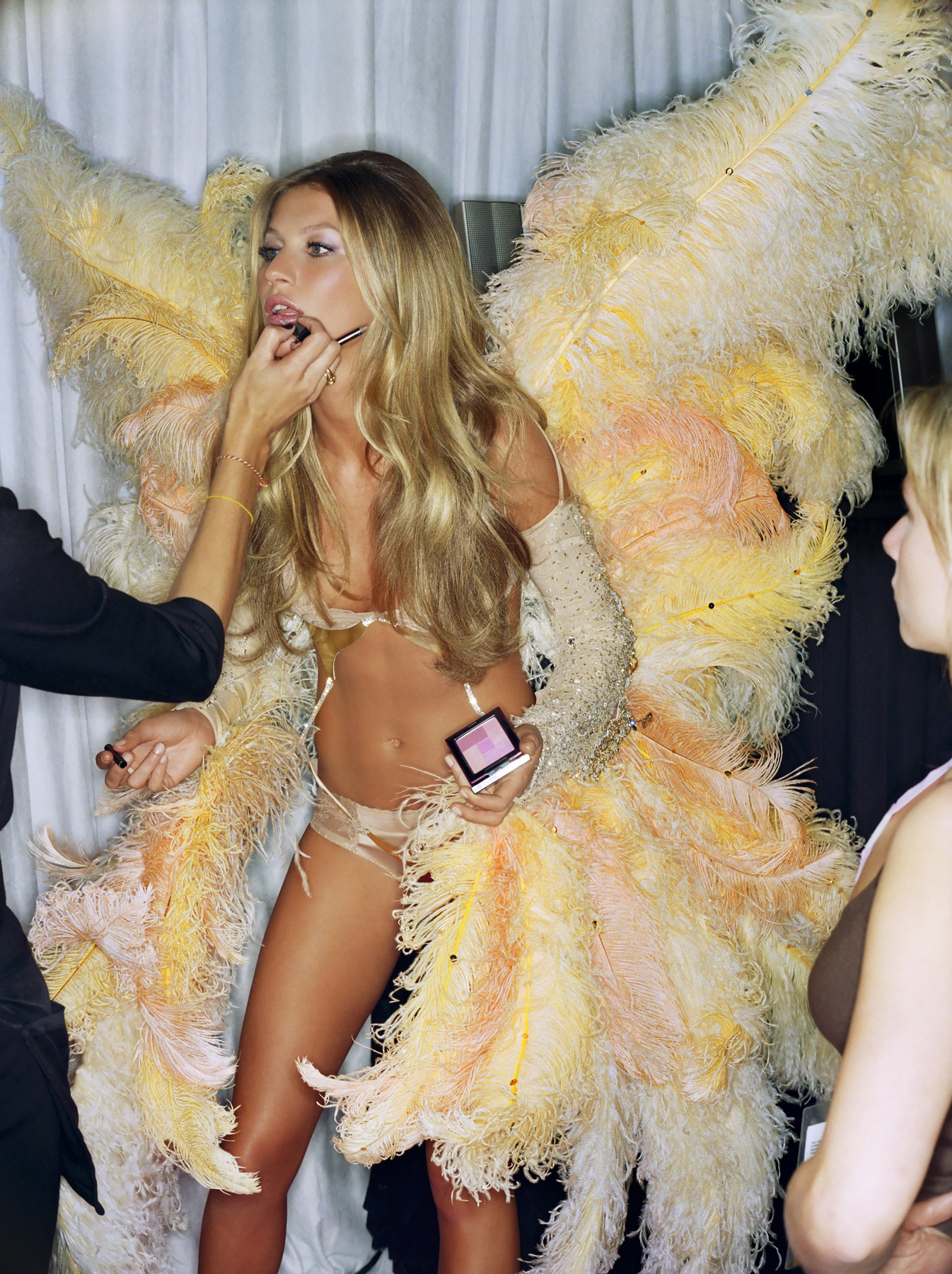 Gisele Lips Backstage I by Gavin Bond