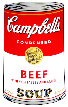 Beef Soup by Andy Warhol