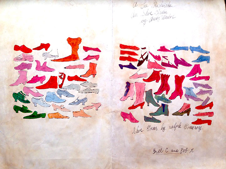 Andy Warhol A La Recherche Du Shoe Perdu Guy Hepner