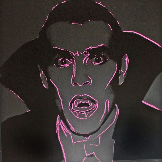 Dracula, Andy Warhol, pop art