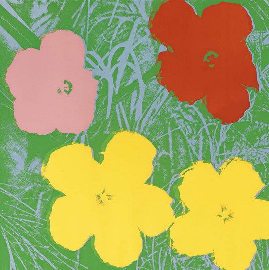 Flower 65, Andy Warhol, Pop Art