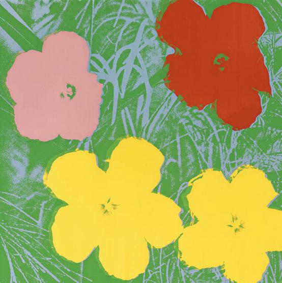 Flower 65, Andy Warhol, Pop Art