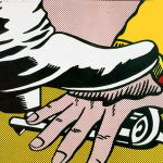 foot and hand, Roy Lichtenstein, pop prints