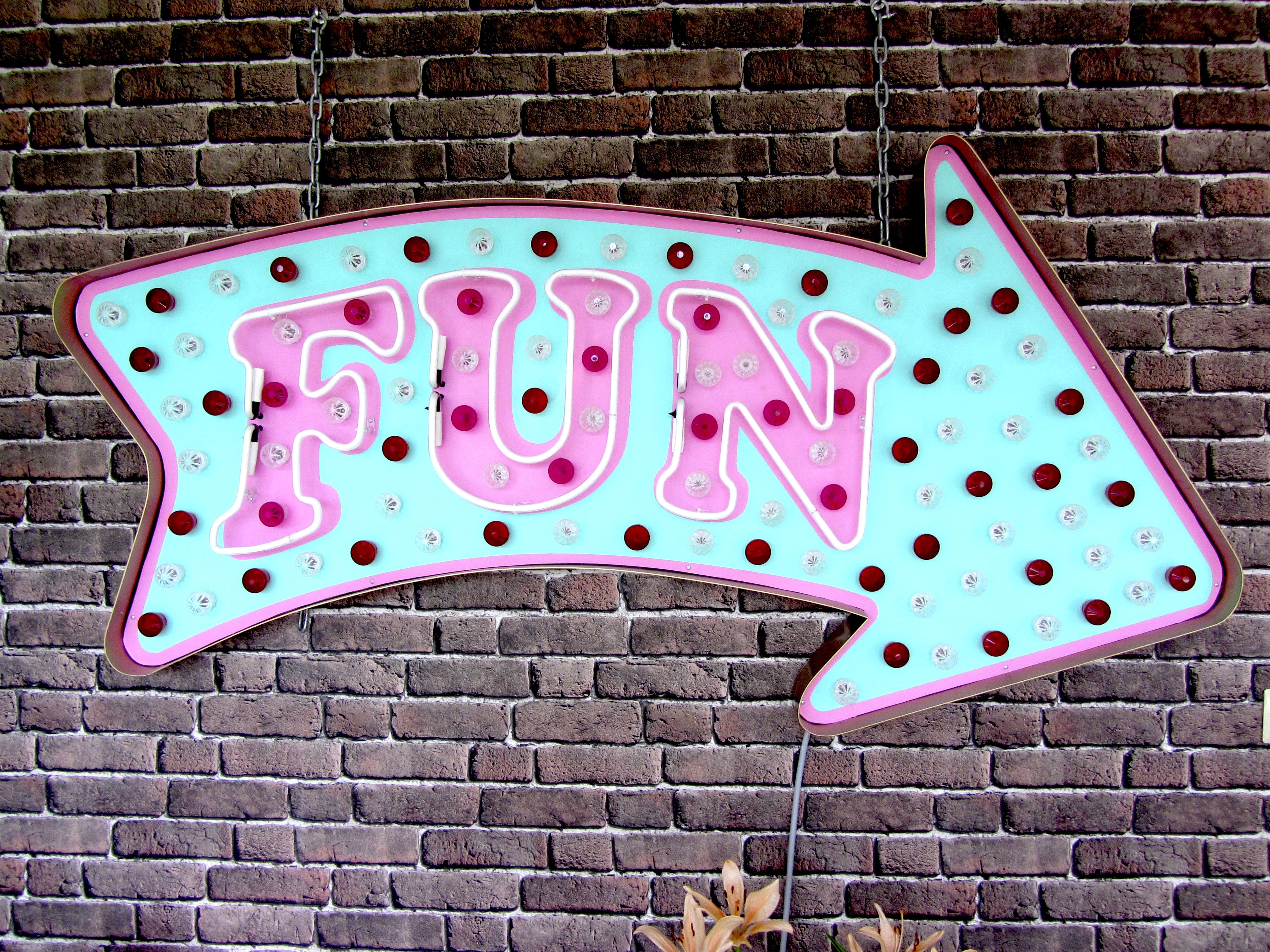 Fun Neon by Chris Bracey