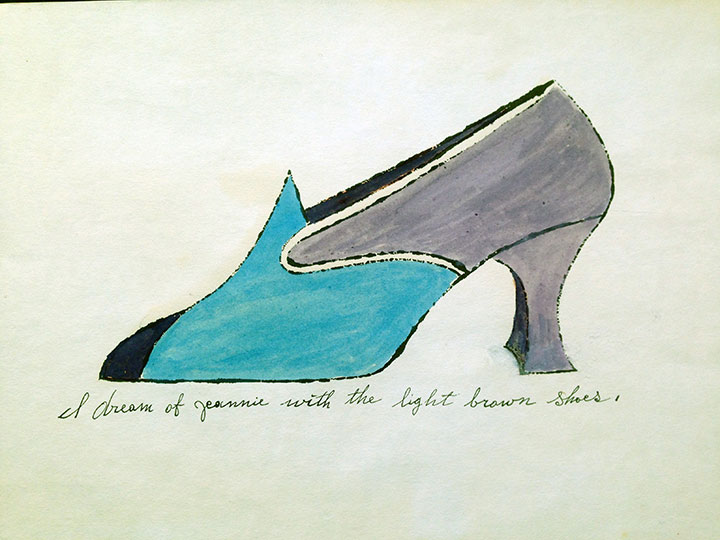 I Dream of Jeannie – Shoe Portfolio by Andy Warhol
