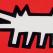 keith haring, dog keith haring, pop art , icons, Red Dog by Keith Haring