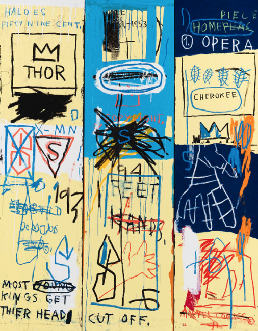 pop, basquiat, charles I, estate print
