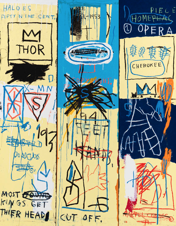 Charles the First by Basquiat