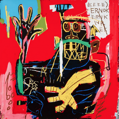 pop, basquiat, ernok, estate print