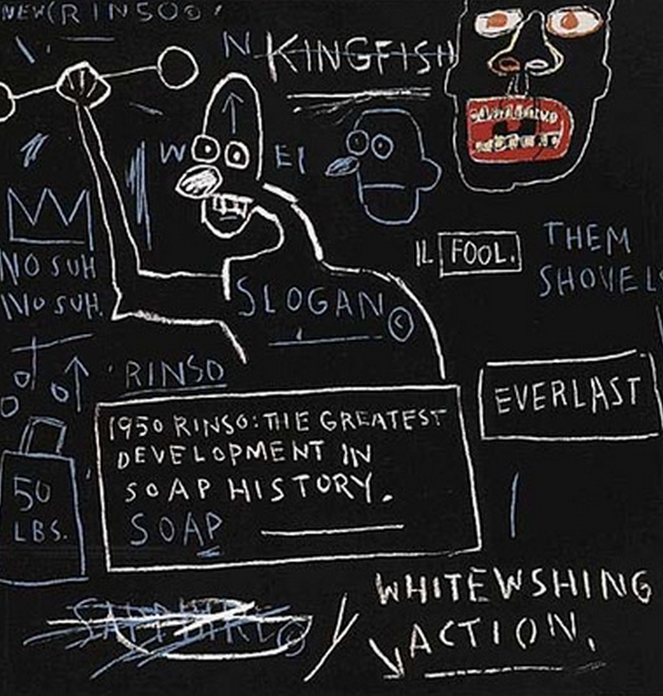 Rinso by Basquiat from the  Estate Series