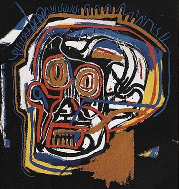 Untitled Head by Basquiat