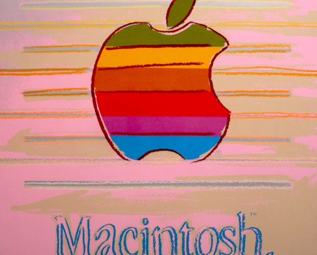 Apple, Macintosh, andy warhol, pop art, warhol, Apple (Macintosh) Ad by Andy Warhol