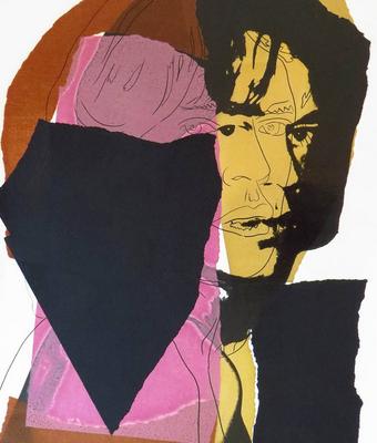 Mick Jagger, Andy Warhol, Pop Art