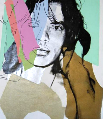 Mick Jagger 140, Andy Warhol, Pop Art