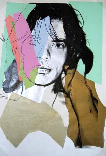 Andy Warhol Mick Jagger, Andy Warhol's Mick Jagger Series