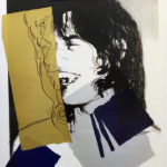 Mick Jagger 142, Andy Warhol, Pop Art