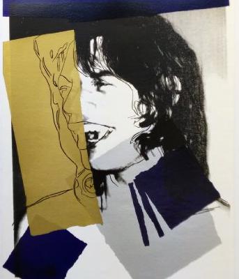 Mick Jagger 142, Andy Warhol, Pop Art