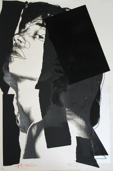 Mick Jagger 144, Andy Warhol, Pop Art