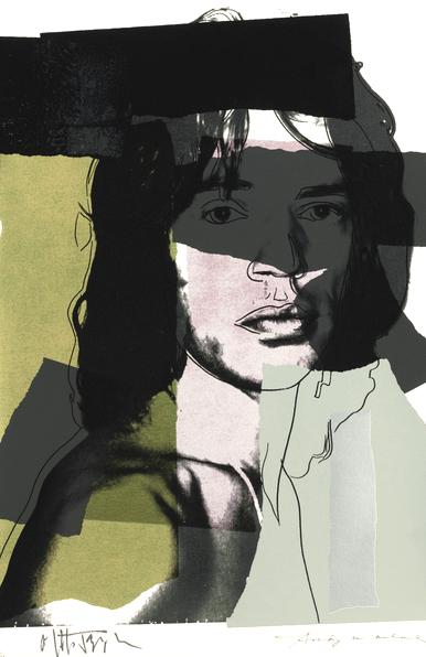 Mick Jagger 145, Andy Warhol, Pop Art