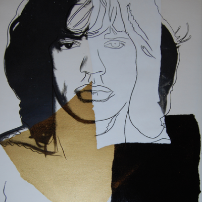 Mick Jagger 146, Andy Warhol, Pop Art