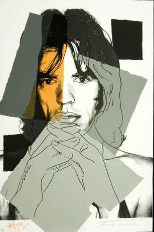 Mick Jagger 147, Andy Warhol, Pop Art
