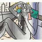 nude reading, roy lichtenstein, pop art