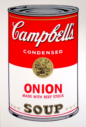 Onion by Andy Warhol