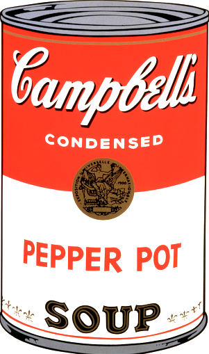 Pepper Pot Soup by Andy Warhol