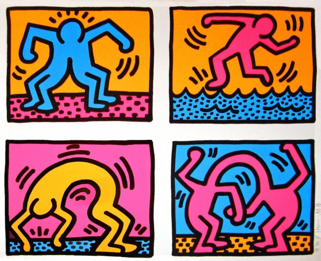 pop shop, keith haring