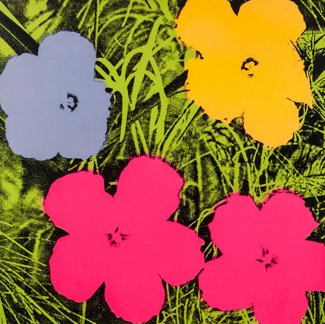 Flower 73 - Andy Warhol - Guy Hepner