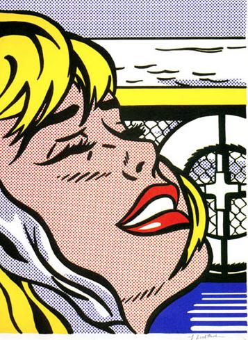 Ship Board Girl, Roy Lichtenstein, pop art