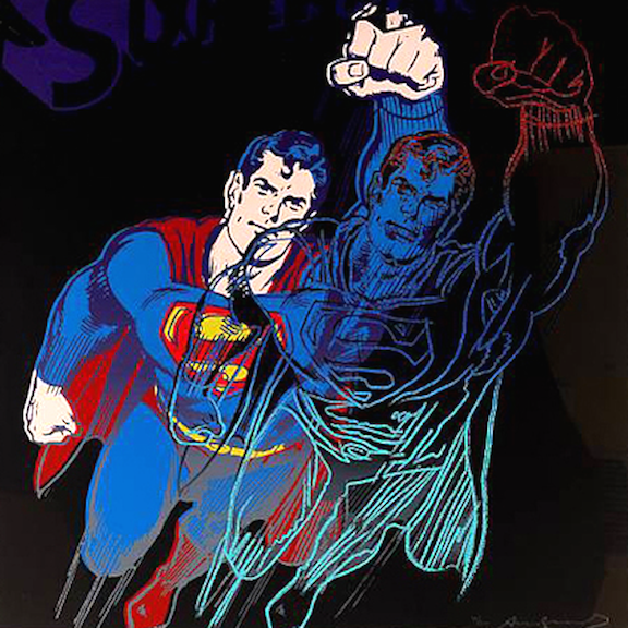 Warhol, Superman, Andy Warhol, Pop art