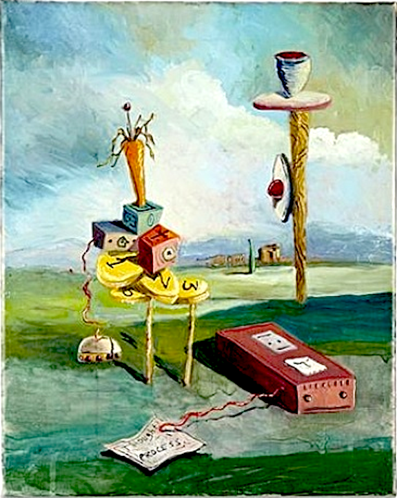 Thought Process by George Condo