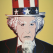 Uncle Sam, Andy Warhol, warhol, pop art, Uncle Sam by Andy Warhol