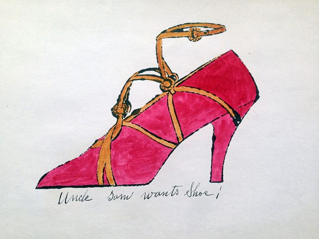 shoes, andy warhol, pop art, andy warhol shoes