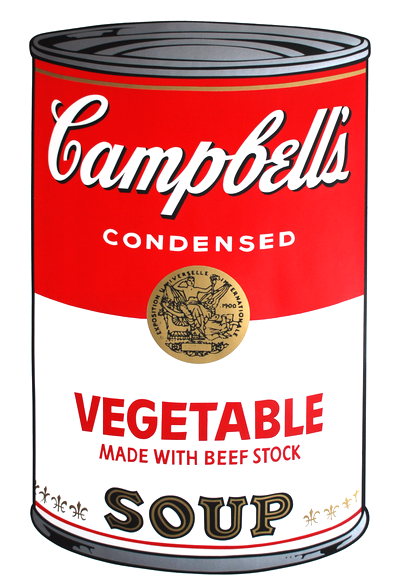 Vegetable Soup by Andy Warhol