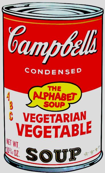 Vegetarian Vegetable Soup by Andy Warhol
