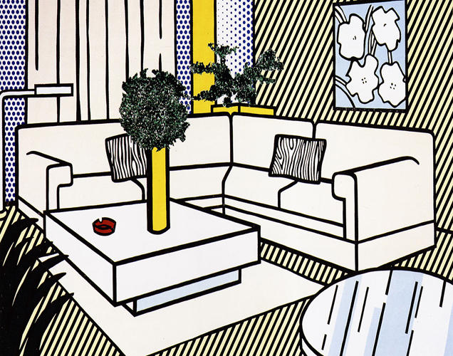 Contemporary Art Seascape Framed Canvas Print for Home